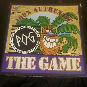 POG The Game POGS Board Game NFL Super Bowl XXIX With 49 Pogs 15 Slammer Kini's