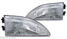 New Replacement Headlight Assembly PAIR / FOR 1994-98 FORD MUSTANG