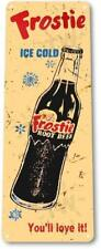 Frostie Cola Soda Beverage Kitchen Bar Rustic Metal Retro Soda Decor