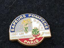 PINS PIN BADGE SAPEUR POMPIER FIRE PLONGEE DIVING GRENOUILLE PARIS FROG
