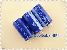 20PCS Nichicon VX 3300UF 25V 16*31mm 85°C Hi-End Audio electrolytic Capacitors