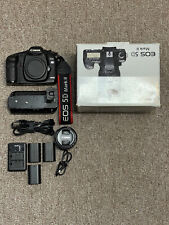Canon EOS 5D Mark II 21.1 MP DSLR Camera - Black + Battery Grip + 4 Batteries