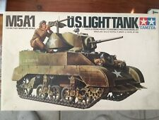 TAMIYA #35097US light tank M5A1 1977