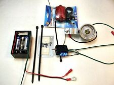 BICYCLE DYNAMO GENERATOR Battery and Headlight With Built-In Charger & Voltmeter