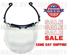 Medical Face Shield Visor!Made in USA BULK Reusable-3D Printed.