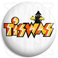 Tiswas Logo - 25mm Button Pin Badge - Retro Kids Nostalgia Cult TV Program
