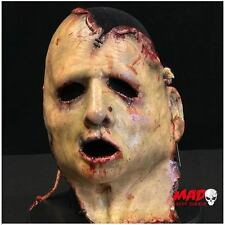 Super Deluxe Split Skin Latex Mask - Horror Killer Collector Collectible