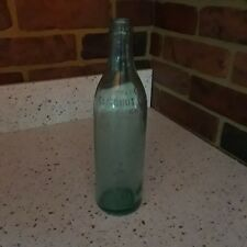 Vintage Trade Mark Embossed Clicquot Club Soda Bottle