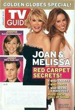 TV GUIDE-2005-JOAN RIVERS + MELISSA RIVERS COVER + JENNIFER GARNER + JOHNNY DEPP