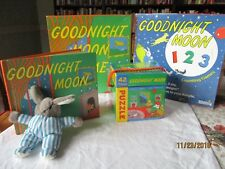 Goodnight Moon Game Nib ,Counting Game, plush,puzzle 1 hardback