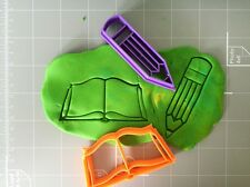 Book And Pencil cookie cutter