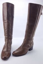 Matisse Rio Grande Brown Leather Tall Boots Pull-on 11M