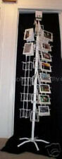 Greeting Card Display 40 Pocket Rack H&V Spinner WHITE A+ REVIEWS MADE IN USA