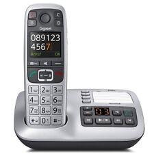Gigaset E560 A Platin Schnurlostelefon mit Anrufbeantworter