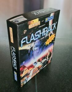 Big Box PC Games Flashback The Quest For Identity CD-ROM Original Release 1993