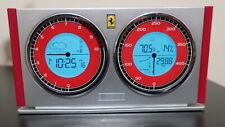 New listing Ferrari Desk Clock Thermometer Hygrometer Barometer Forecast Oregon Scientific