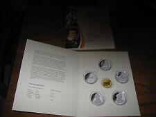 Aufbewahrungshülle für dier 5 Stück, 10 Euromünzen 2013