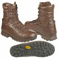 ALTBERG BROWN COMBAT BOOTS - GRADE 1 - VARIOUS SIZES - CADET - BRITISH ARMY.