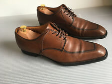 c724bb8afe4b03 JM Weston Split Toe derby brown leather US Size 12E. UK 11E