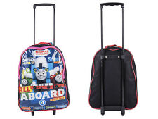 Disney Kids Boys Girls Cabin Trolley Case Wheeled Bag Suitcase Hand Luggage Thomas The Tank
