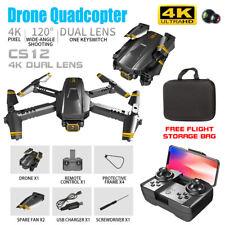 Mini Drone CS12 4K HD Dual Camera Professional WIFI FPV Drone RC Quadcopter US