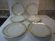 6 Theodore Haviland Limoges France Schleiger 9 5/8in Dinner Plates Pink Gold cha