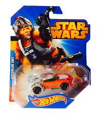 Star Wars Hotwheels -- Luke Skywalker Sports Car -- Die Cast, 2014
