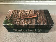 VINTAGE TIMBERLAND 21 BOAT ROOTBEER 10 US / 9.5UK EMPTY SHOE BOX 25077 USA