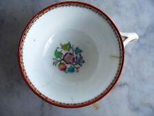 Tazza porcellana inglese servizio Minton 1800 collezione ceramica maiolica