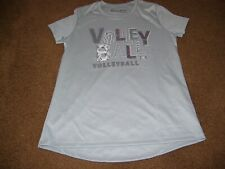 Under Armour Girls Size Youth Medium Short Sleeve Shirt New With Tags Gray