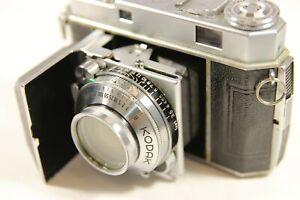 Vintage Kodak Retina IIa 35mm rangefinder 35mm film camera