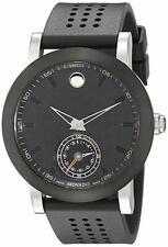 Movado Men's 0660003 'Museum Sport Motion Smartwatch' Black Rubber Watch