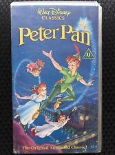 Snow White & The 7 Dwarfs VHS Videotape Walt Disney Animated Children's Film