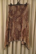 VINTAGE Style  ~ ANTHEA CRAWFORD ~ Animal Print SKIRT * Size M * REDUCED !!