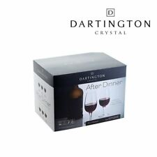 Dartington Crystal Después Cena Puerto Licores & POSTRE Vasos Set de 6 205ml