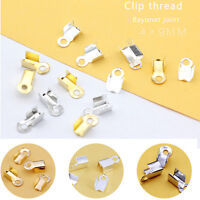 Copper Spacer Crimps Beads Jewelry Findings Silver//Gold 2mm,2.5mm,3mm R0123
