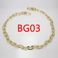 BG15 purse metal chain strap replacement gold crossbody shoulder strap handbag