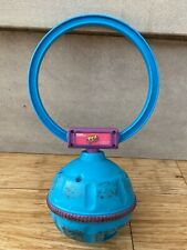 1998 90's Retractable Kick & Spin Skip It Toy by Tiger w/ Built In Counter -Blue