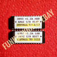 Akai S950 OS version 1.2A EPROM Firmware Upgrade KIT /New ROM Final Update S-950