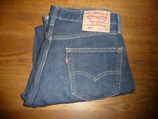 Used Levis 505 red tab Jeans  .30x 30. Reg. fit .In VGC . Dark blue . Levis 505