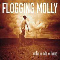FLOGGING MOLLY 'WITHIN A MILE FROM HOME' CD NEW!!!!!