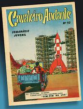 Tim & Tintín destino turístico luna Preview cover Tintin 1953 herge Kuifje Portugal