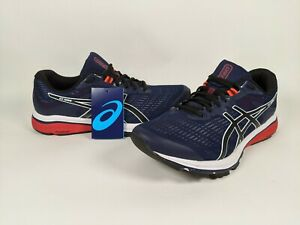 ASICS GT-1000 8 Blue Black Wallking Running Shoes Men's 10.5 Wide New w/out Box