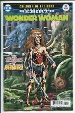 Wonder Woman #32 - Dc Rebirth - Bryan Hitch Regular Cover - Dc Comics/2017