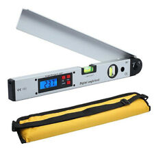 0~225° LCD Digital Angle Finder Protractor Inclinometer Meter Spirit Level Gauge