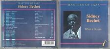 Sidney bechet Masters of Jazz-what a Dream [CD]