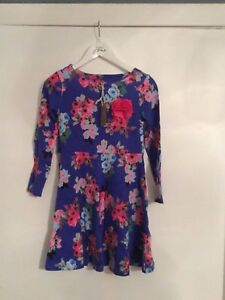 Beautiful Jnr Ellie Ditsy Skater / Party Dress - Joules - BNWT - RRP £32.95