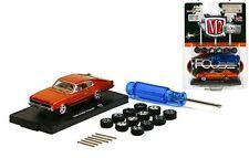 `66 Dodge Charger FOOSE + 12 Extra Wheels 1966 ** M2 Machines 1:64 RAR+OVP