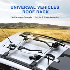 Pair 93~99cm Universal Car Top Luggage Kayak Cargo Cross Bars Roof Rack Carrier