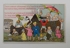 Mother Goose Series Nestlé's Milk Food Woman Who Lived in a Shoe Trade Card